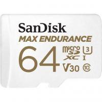 Карта памяти SANDISK 64GB microSDXC class 10 UHS-I U3 Max Endurance (SDSQQVR-064G-GN6IA)