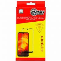 Стекло защитное DENGOS Full Glue Vivo X50, black frame (TGFG-144)