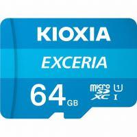 Карта памяти Kioxia 64GB microSDXC class 10 UHS-I Exceria (LMEX1L064GG2)
