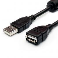Дата кабель USB 2.0 AM/AF 1.5m Atcom (17206)