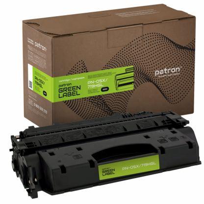 Картридж PATRON HP LJ CE505X/CANON 719H GREEN Label (PN-05X/719HGL)