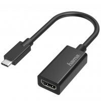 Переходник USB-C to HDMI Ultra HD 4K Black HAMA (00200315)