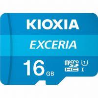 Карта памяти KIOXIA 16GB microSDHC class 10 UHS-I Exceria (LMEX1L016GG2)