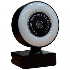 Веб-камера Okey FHD 1080P LED подсветка (WB230)