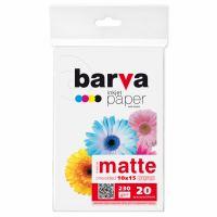 Бумага BARVA 10x15, 230g/m2, 20c (IP-A230-205)