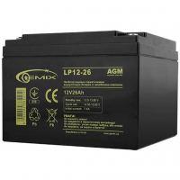 Батарея к ИБП GEMIX 12В 26 Ач (LP12-26)