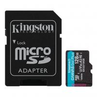 Карта памяти Kingston 128GB microSDXC class 10 UHS-I U3 A2 Canvas Go Plus (SDCG3/128GB)