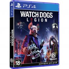 Игра SONY Watch Dogs Legion [Blu-Ray диск, Russian version] PS4 (PSIV724)