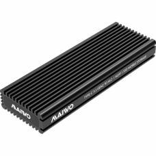 Карман внешний Maiwo M.2 SSD NVMe/SATA combo USB3.1 GEN2 Type-C al. (K1687P2)