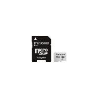Карта памяти Transcend 16GB microSDHC class 10 UHS-I U1 (TS16GUSD300S-A)