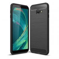 Чехол для моб. телефона Laudtec для Samsung J4 Plus/J415 Carbon Fiber (Black) (LT-J415F)
