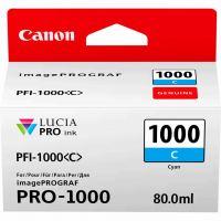 Картридж Canon PFI-1000C (Cyan) (0547C001)