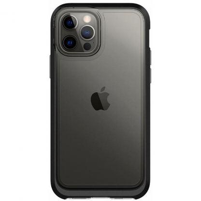 Чехол для моб. телефона Spigen iPhone 12 / 12 Pro Neo Hybrid, Crystal Black (ACS01706)