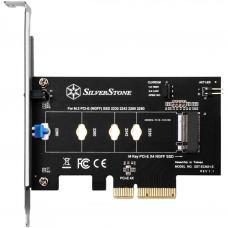 Плата расширения Silver Stone PCIe x4 до SSD m.2 NVMe 2230, 2242, 2260, 2280 (SST-ECM21-E)