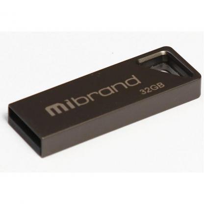USB флеш накопитель Mibrand 32GB Stingray Grey USB 2.0 (MI2.0/ST32U5G)