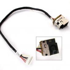 Разъем питания ноутбука с кабелем для HP PJ230 (7.4mm x 5.0mm + center pin), 7-pin, универсальный (A49042)