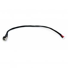 Разъем питания ноутбука с кабелем для Lenovo PJ520 (5.5mm x 2.5mm), 6-pin, 20 см универсальный (A49027)