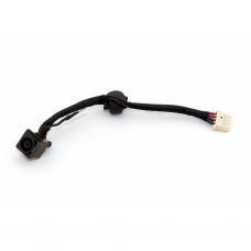 Разъем питания ноутбука с кабелем для Sony PJ282 (6.5mm x 4.4mm + center pin), 4-pin универсальный (A49048)