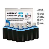 Чернила BARVA Canon/HP/Lexmark Universal №4 Cyan 10x100мл ServicePack (CU4-1SP-C)