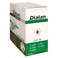 Кабель сетевой Dialan UTP 305м КНПп 4*2*0,50 [СU] cat.5e, внеш., проволка 1,2мм (11208)