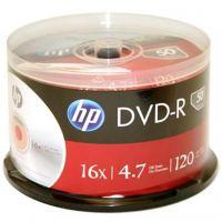 Диск DVD HP DVD-R 4.7GB 16X 50 шт Spindle (69316/DME00025-3)