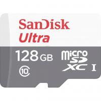 Карта памяти SANDISK 128GB microSDHC class 10 UHS-I Ultra (SDSQUNR-128G-GN3MA)