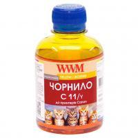 Чернила WWM CANON CL441/511/513/CLI521/426 Yellow (C11/Y)