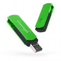 USB флеш накопитель eXceleram 32GB P2 Series Green/Black USB 2.0 (EXP2U2GRB32)
