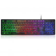Клавиатура Vinga KB410 black
