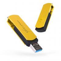 USB флеш накопитель eXceleram 16GB P2 Series Yellow2/Black USB 3.1 Gen 1 (EXP2U3Y2B16)