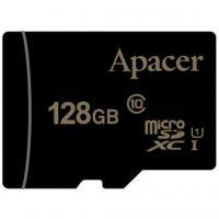 Карта памяти Apacer 128GB microSDXC Class10 UHS-I (AP128GMCSX10U1-RA)