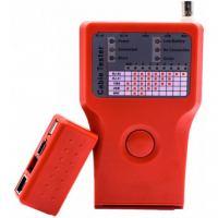 Тестер кабельный 5 в 1 -> RJ-45/RJ-11/BNC/USB/1394 Merlion (KTRJUSB)