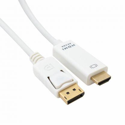 Кабель мультимедийный DisplayPort to HDMI 2.0m EXTRADIGITAL (KBD1669)
