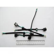 Разъем питания ноутбука с кабелем для Toshiba PJ067 (5.5mm x 2.5mm), 4-pin, 16 см универсальный (A49022)