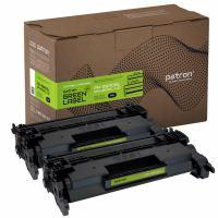 Картридж PATRON HP LJ CF226A GREEN Label (DUAL PACK) (PN-26ADGL)