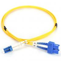 Оптический патчкорд DIGITUS LC/UPC-SC/UPC,9/125,OS2,duplex,1m (DK-2932-01)