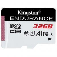 Карта памяти Kingston 32GB microSD class 10 UHS-I U1 A1 High Endurance (SDCE/32GB)
