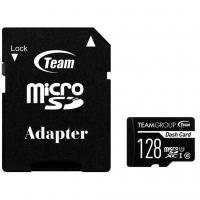 Карта памяти Team 128GB microSDXC class 10 UHS-I (TDUSDX128GUHS03)
