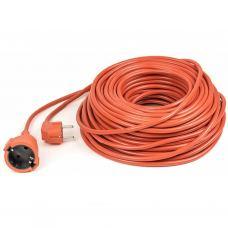 Сетевой удлинитель PowerPlant удлинитель 40 м, 3x2.5мм2, 16А, морозостойкий (JY-3024/40) (PPCA16M40S1L)