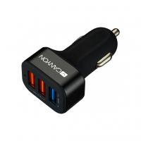 Зарядное устройство CANYON Universal 3xUSB car adapter (CNE-CCA07B)