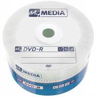 Диск DVD MyMedia DVD-R 4.7GB 16X Wrap MATT SILVER 50шт (69200)