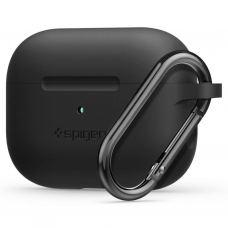 Чехол Spigen Airpods Pro Silicone Fit, Black (ASD00533)