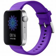 Ремешок для смарт-часов BeCover Silicone для Xiaomi Mi Watch Purple (704519)