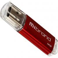 USB флеш накопитель Mibrand 64GB Cougar Red USB 2.0 (MI2.0/CU64P1R)