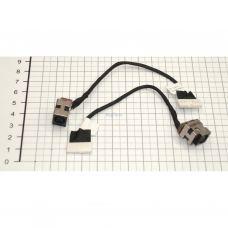 Разъем питания ноутбука с кабелем для HP PJ270 (7.4mm x 5.0mm + center pin), 8(7)-pi универсальный (A49035)