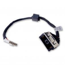 Разъем питания ноутбука с кабелем для Lenovo PJ718 (прямоугольный + center pin), 5-p универсальный (A49074)