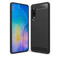 Чехол для моб. телефона Laudtec для Huawei P30 Carbon Fiber (Black) (LT-P30B)