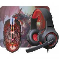 Мышка Defender DragonBorn MHP-003 kit mouse+mouse pad+headset (52003)