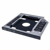 Фрейм-переходник Grand-X HDD 2,5'' SATA2/SATA3 Slim 9,5mm (HDC-24С)