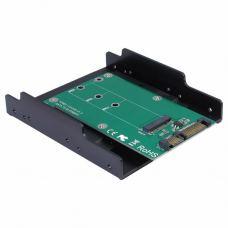 Конвертор Maiwo SATA to M.2 (NGFF) SSD 22*42mm, 22*60mm, 22*80mm, в 3,5